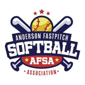anderson fastpitch softball association logo