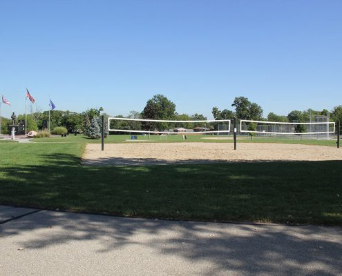 Beech Acres Park volleyball courts