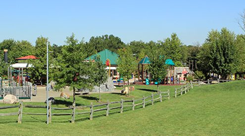 Beech Acres Park all-children's playground