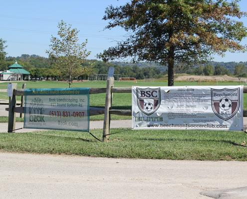 Outdoor banner program sponsors: Clear Creek Park