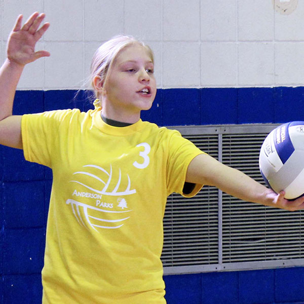 Girls competitive volleyball leagues
