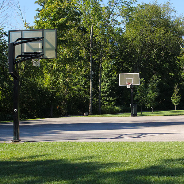 Veterans Park basketball court