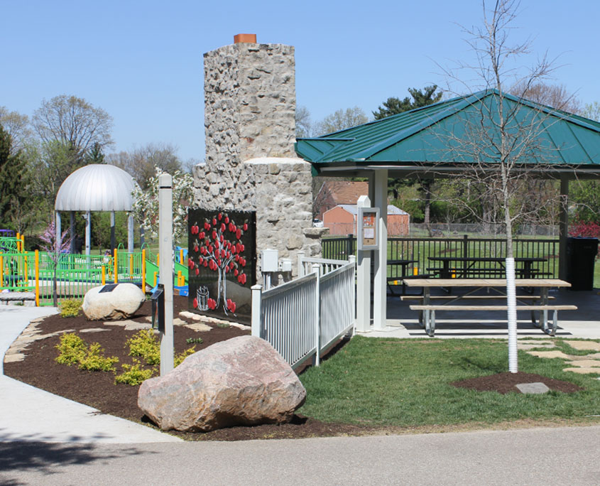 Small Park Shelters : Shelters anderson park district