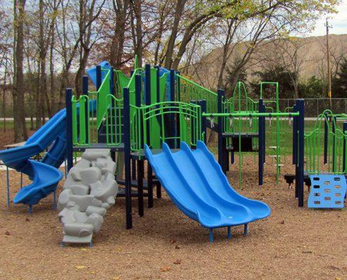Kellogg Park playground