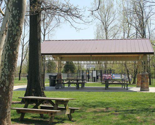 Kellogg Park shelter