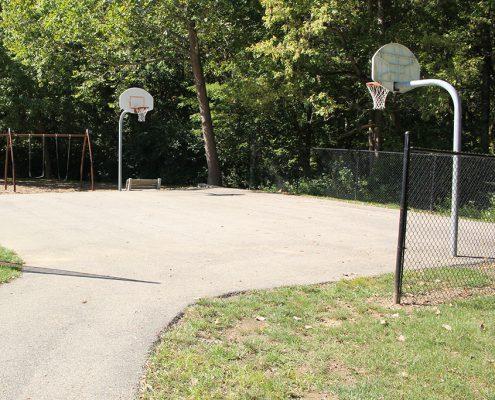 Laverty Park basketball court