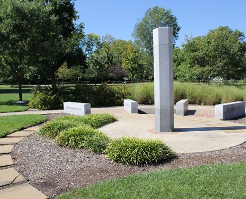 Beech Acres Park Greater Anderson Promotes Peace (GAPP) peace pole