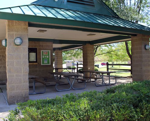 Riverside Park shelter