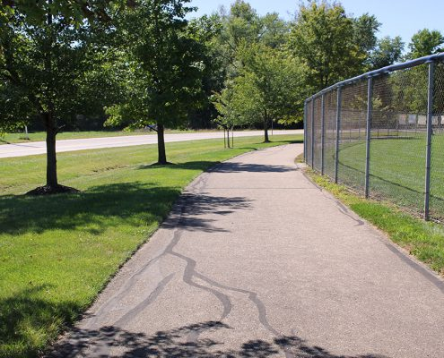 Riverside Park trail
