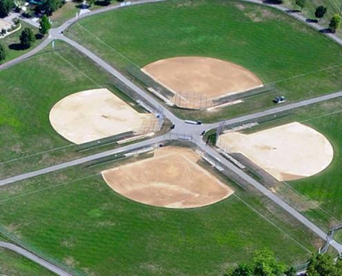 Riverside Park ball fields