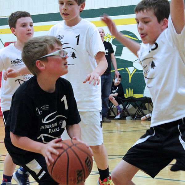 park district boys youth recreational basketball leagues