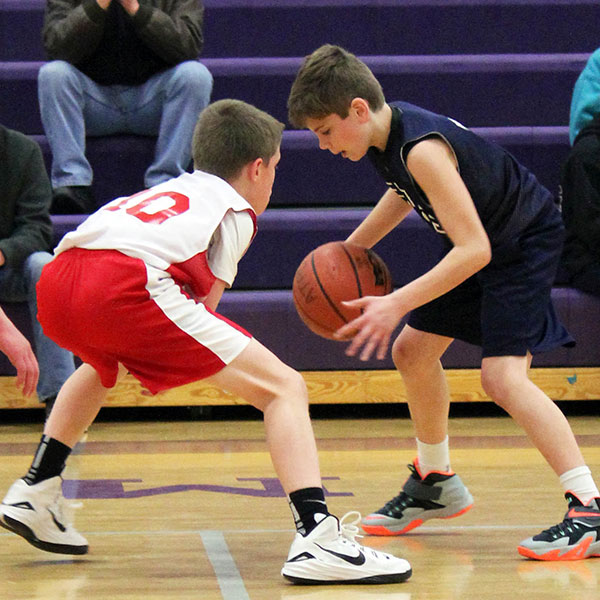 Boys competitive basketball leagues