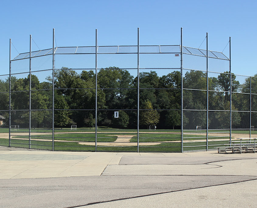 Beech Acres Park ball diamond