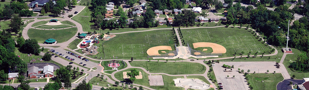 Beech Acres Park aerial