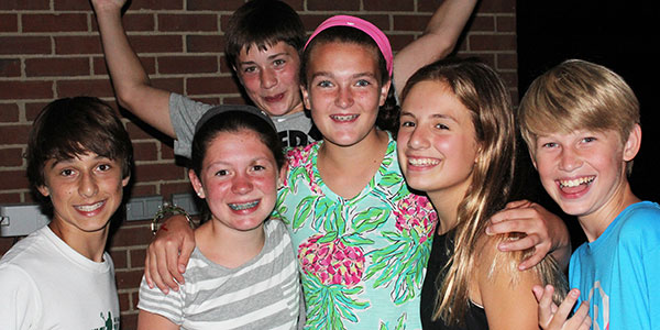 teens at Jr High Park Parties