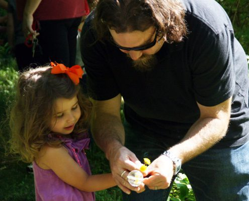 Little Nature Nuts/Explorers for parents and toddlers at Johnson Hills Park