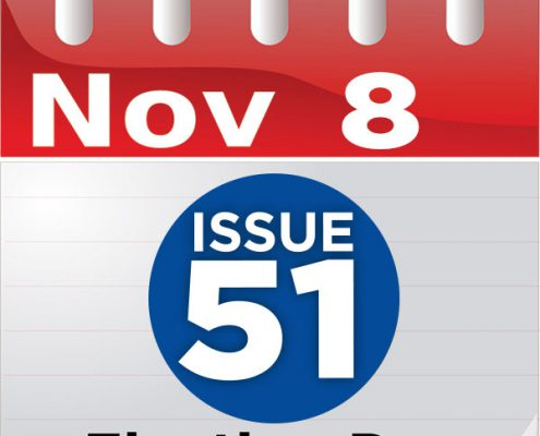 Nov. 8 calendar with ISSUE 51 logo
