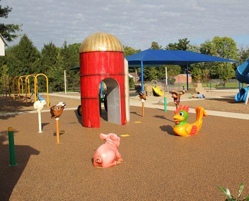 farm themed playground