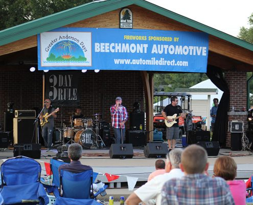 Beech Acres Park amphitheater