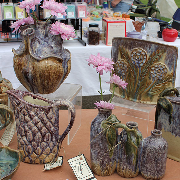 A Fair of the Arts pottery