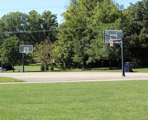 Beech Acres Park basketball court