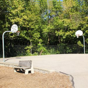 Laverty Park basketball court