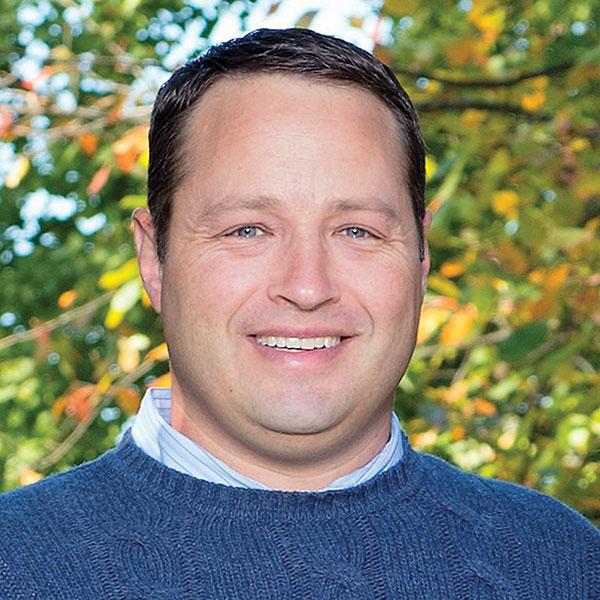 park board member Dominic Wolfer