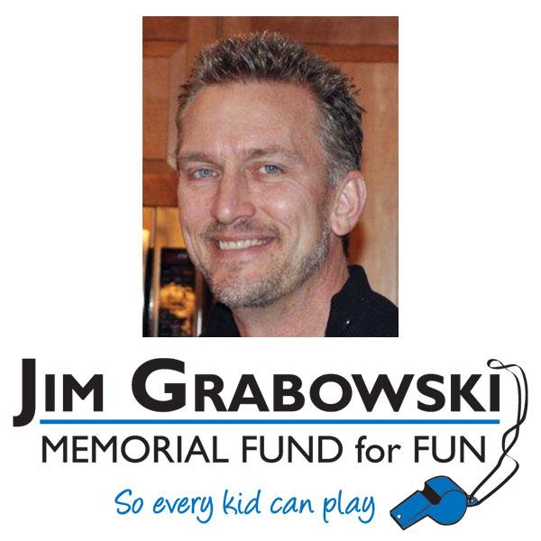 jim grabowski memorial fund for fun logo and pic of grabowski