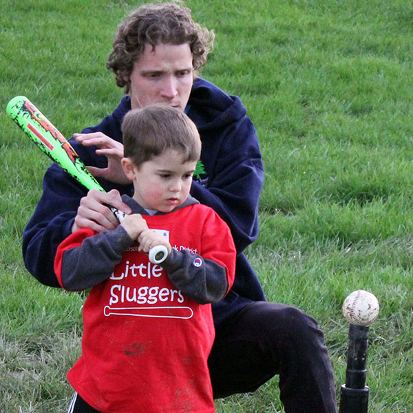 Instructional baseball- Sluggers for boys and girls