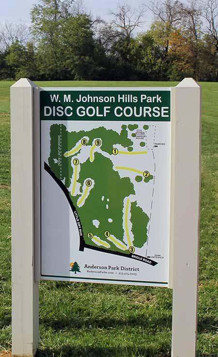 Disc Golf Course - Anderson Park District