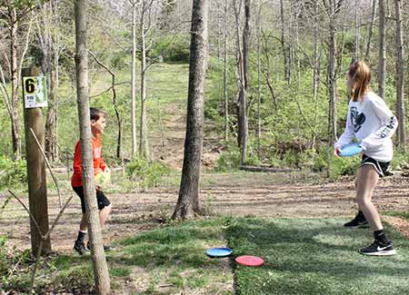 Disc Golf Course at Johnson Hills Park