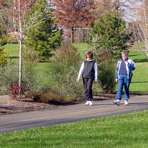 women walking on the Juilfs Park Trail
