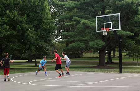 Juilfs Park basketball Court