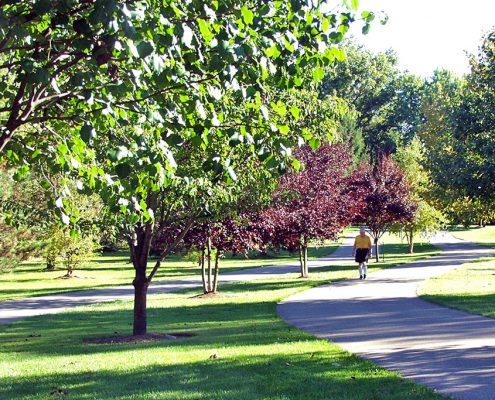 Juilfs Park hike/bike trail