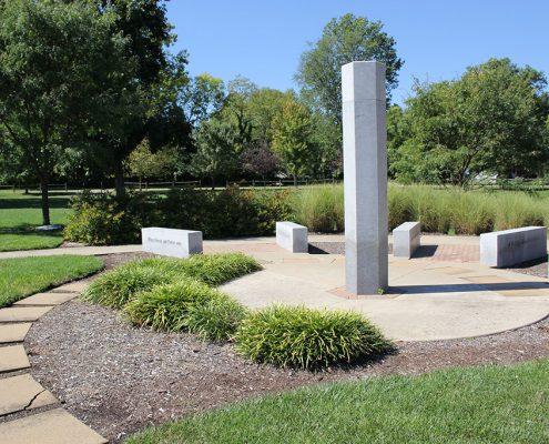 Beech Acres Park Greater Anderson Promotes Peace (GAPP) peace pole