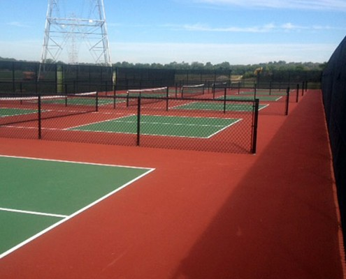 Pickleball Courts at clear creek park