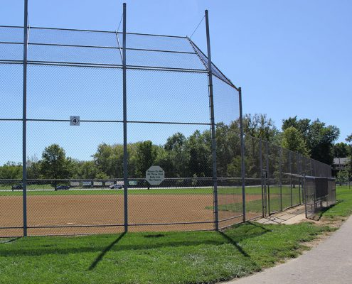 Riverside Park ball diamonds