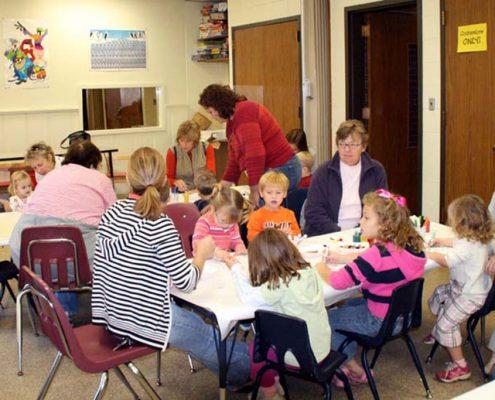 Beech Acres Park Recplex classroom