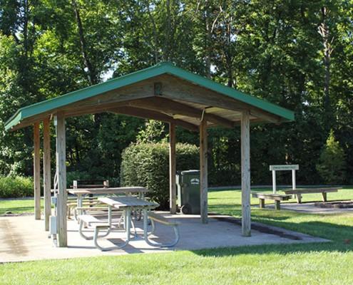 Veterans Park shelter 2