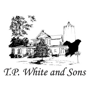 TP White and Sons logo