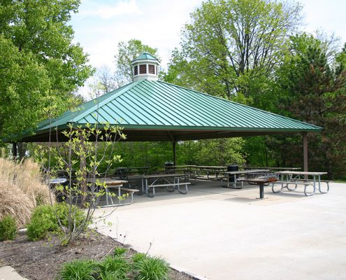 Veterans Park large shelter