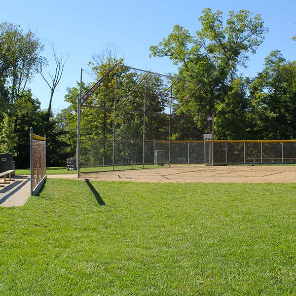 Veterans Park ball diamond