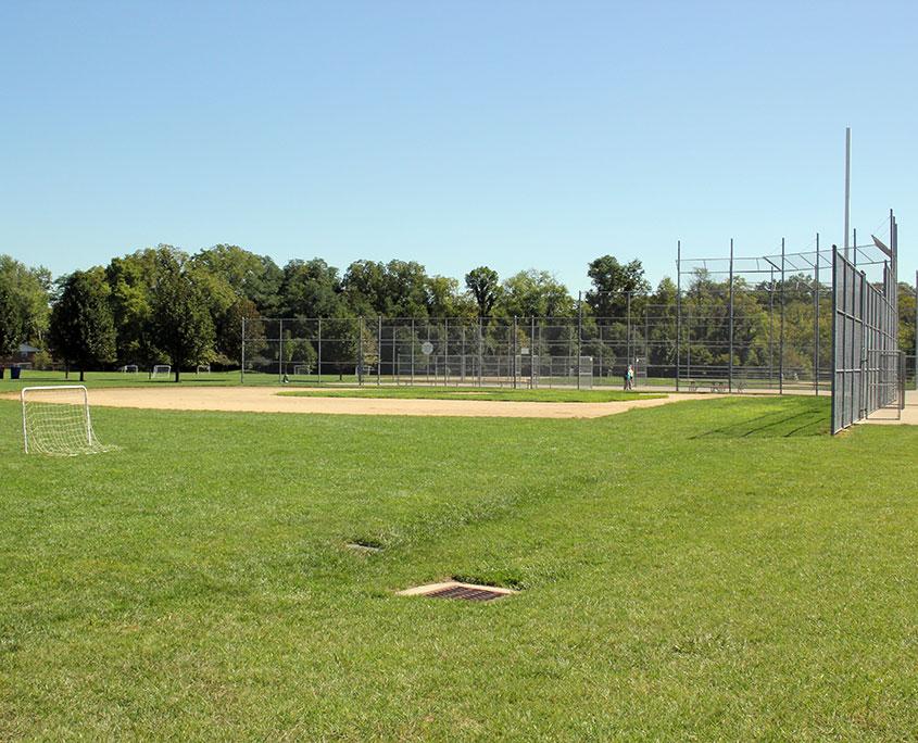 Beech Acres Park ball diamond/soccer field