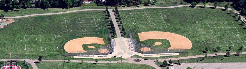 Beech Acres Park ball diamonds