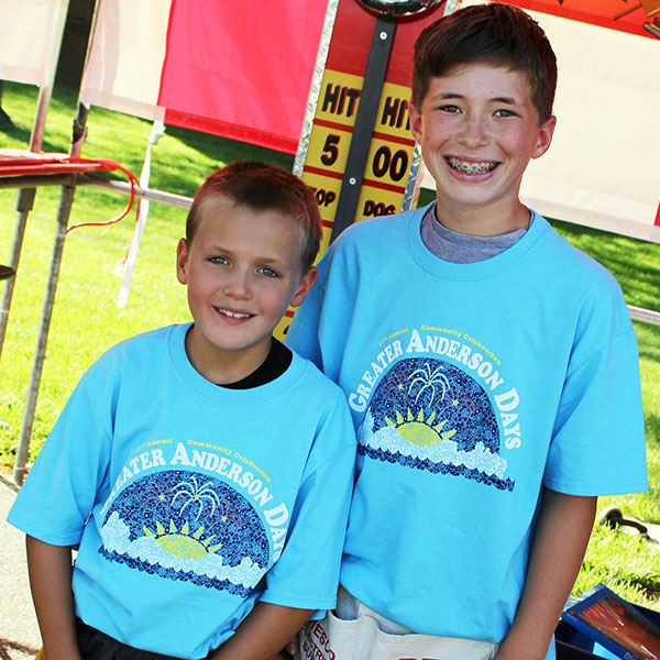 greater anderson days volunteers