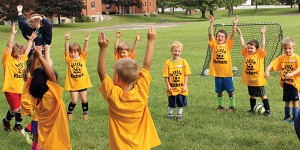 instructional soccer: kickers