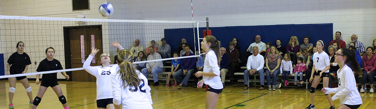Girls volleyball competitive leagues
