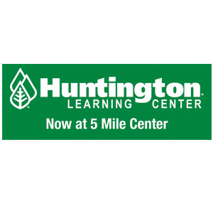 Huntington Learning Center logo now at 5 mile center