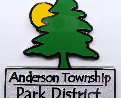Anderson Park District geocoin