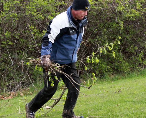 Great American Cleanup Day at Johnson Hills Park
